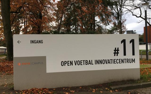 Het Nederlandse voetbal innovatiecentrum testte brainLight